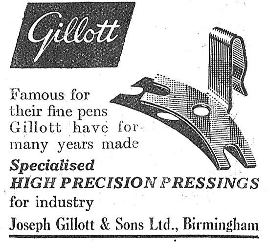 Joseph Gillot High Precision Pressings