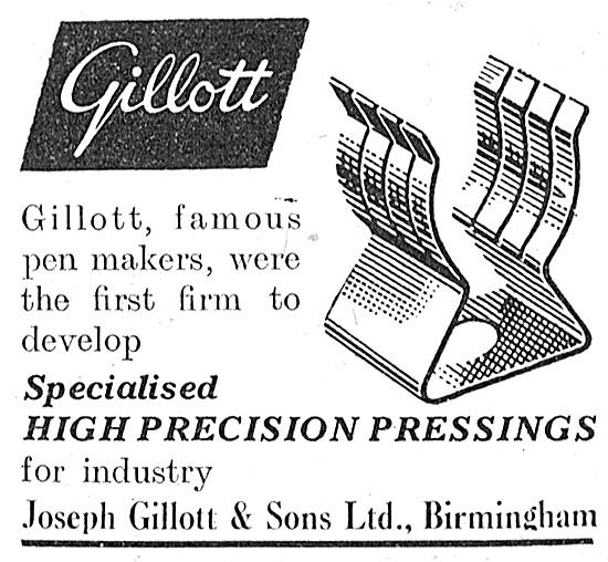 Joseph Gillott Pressings