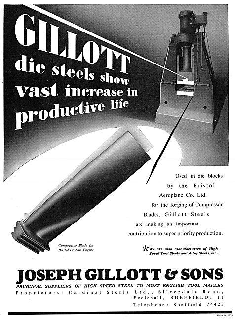 Joseph GillotSteel Die Blocks For Compressor Blade Forging