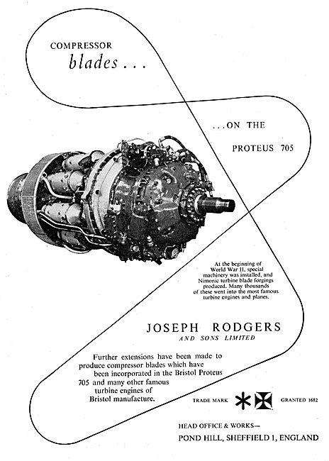 Joseph Rodgers Compressor Blades
