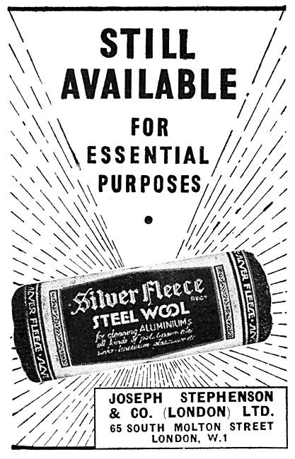 Joseph Stephenson Silver Fleece Steel Wool