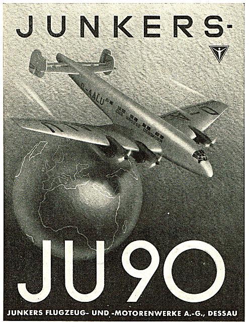 Junkers JU90  D-AALU