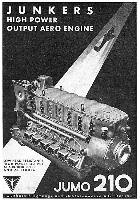 Junkers Jumo 210 Aero Engine