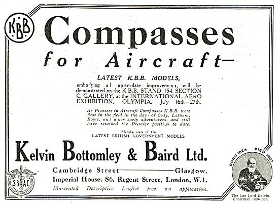 KBB Compasses For Aircraft