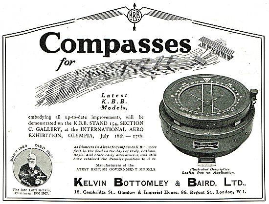 KBB Aircraft Compass