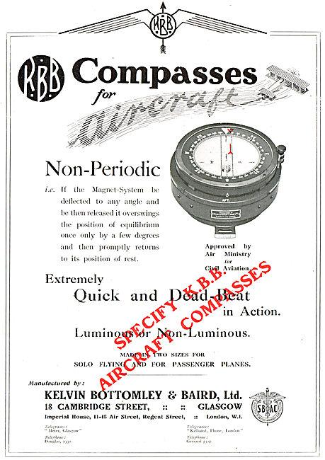 KBB Non-Periodic Aircraft Compass