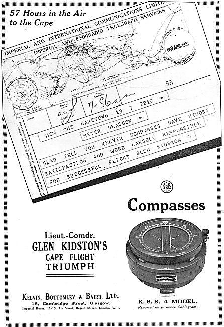 KBB Aircraft Compass. KBB 4