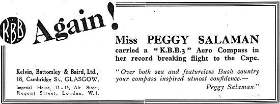 KBB KBB3 Aero Compass. Peggy Salaman