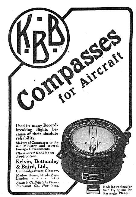 KBB Aircraft Compasses