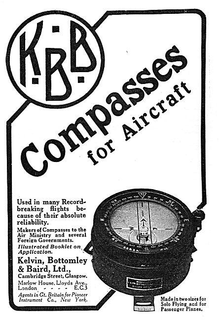 KBB Aircraft Instruments - Compasses