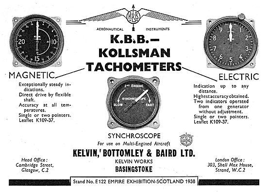 Kelvin Bottomley & Baird - Kelvin Aircraft Instruments