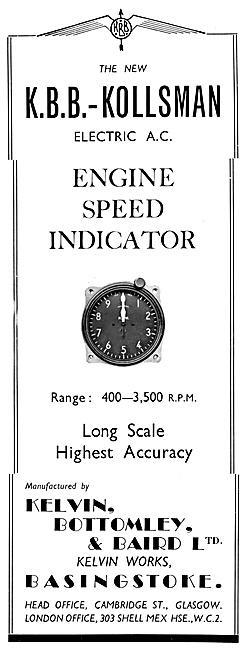 K.B.B.-Kollsman Engine Speed Indicator