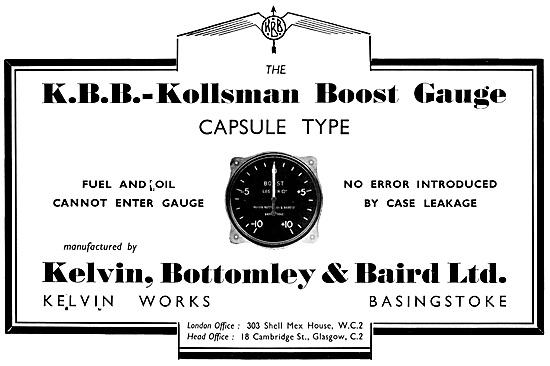 K.B.B.-Kollsman Boost Gauge