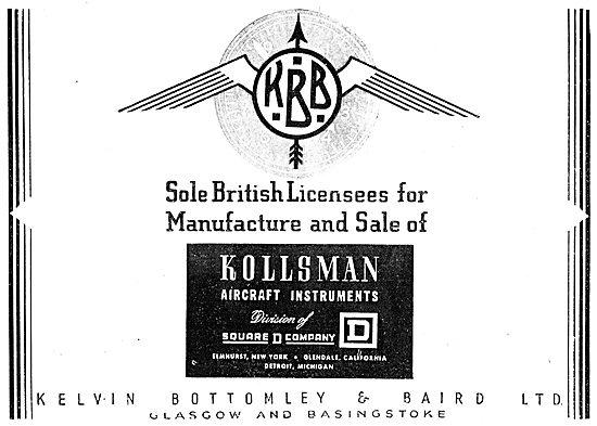 KBB Aircraft Instruments - Kollsman