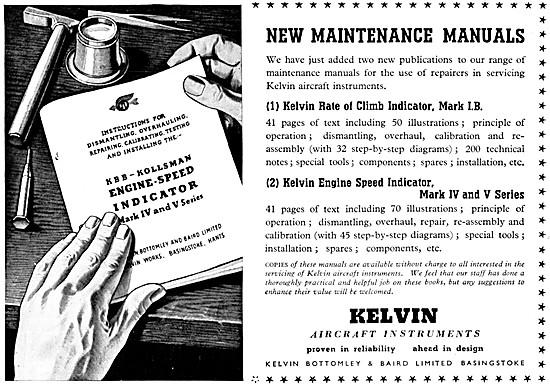 KBB Kelvin Aircraft Instruments. KBB-Kollsman