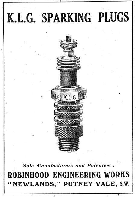 KLG Aero Engine Sparking Plugs