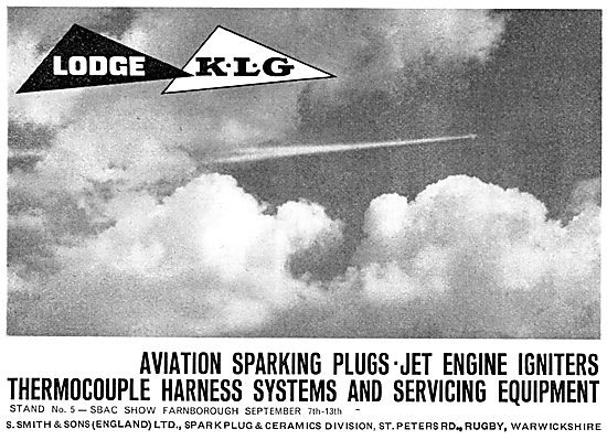 Lodge KLG Aircraft Sparking Plugs And Igniters