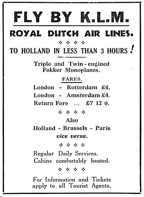 Fly KLM To Paris & Brussels Daily