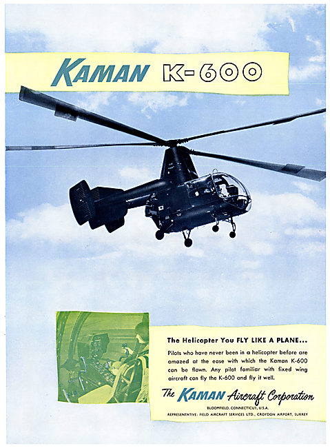Kaman Aircraft K-600 Helicopter
