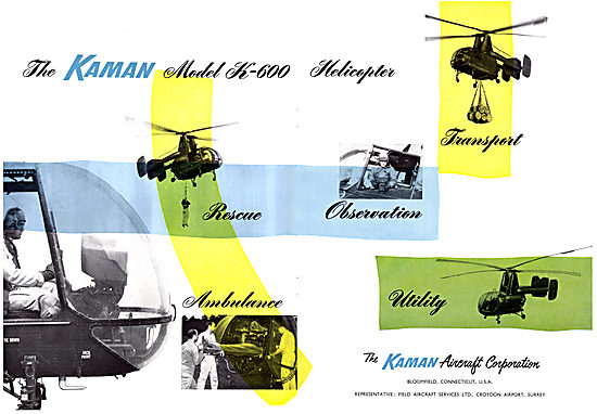Kaman Helicopters - K600