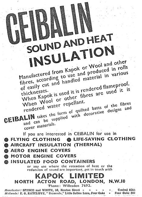Kapok CEIBALIN Sound & Heat Insulation