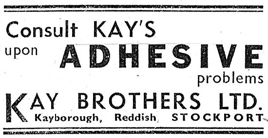 Kay Brothers Adhesives 1942 Advert