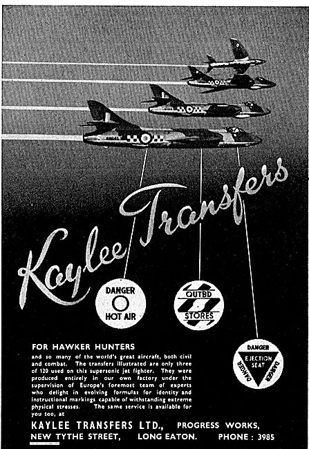 Kaylee Transfers For Aircraft Markings