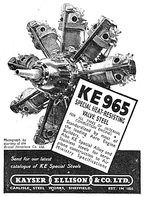 Kayser Ellison & Co Ltd - KE 965 Steel
