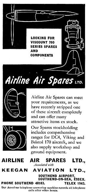 Keegan Aviation: Airline Air Spares