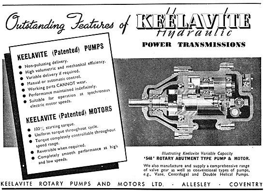 Keelavite Hydraulic Power Transmissions