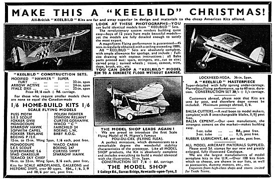 Keelbild Model Aircraft - Flight & Display Types