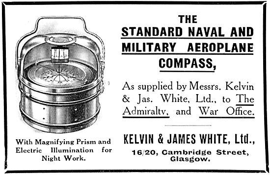 Kelvin & James White Aero Compasses