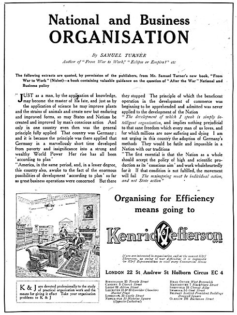 Kenrick & Jefferson Ltd - Business Consultants