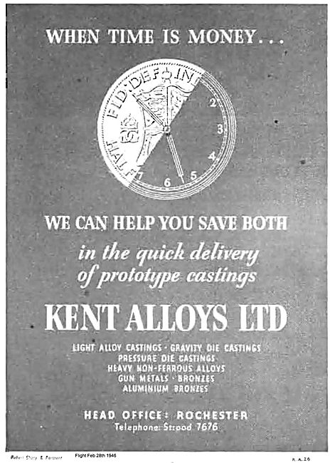 Kent Alloys. Light Alloy Castings