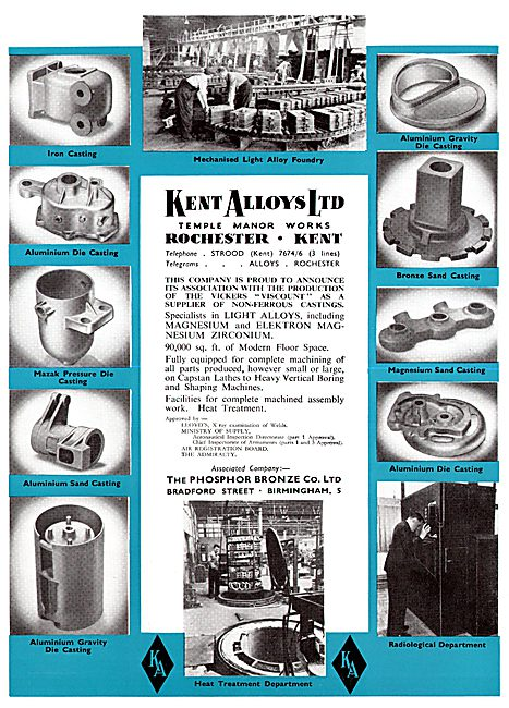 Kent Alloys - Magnesium Elektron Zirconium