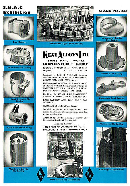 Kent Alloys Specialists In Machining & Castiings In Elektron