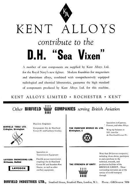 Kent Alloys Precision Castings & Assemblies - Birfield