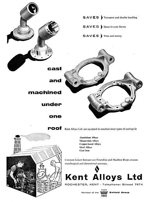 Kent Alloys Precision Castings & Machined Components - Birfield