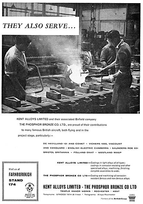 Kent Alloys - Magnesium Elektron Zirconium Castings