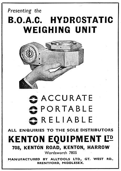 Kenton Equipment : Hydrostatic Weighing Equipment