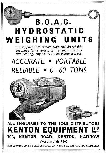 Kenton Equipment Hydrostatic Weighing Unit