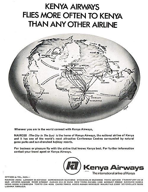 Kenya Airways - The International Airline Of Kenya
