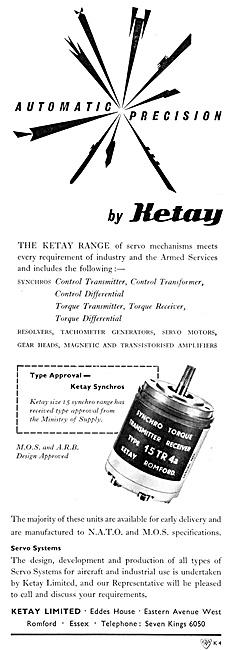 Ketay Servomotors For Aircraft Systems