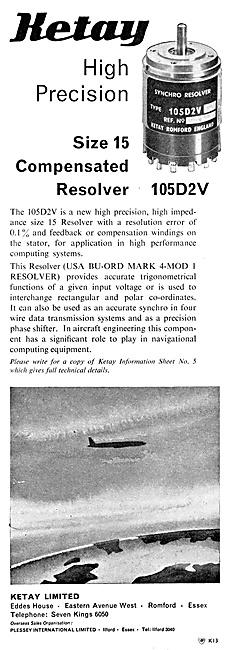 Ketay Size 15 Radar Sweep Resolver