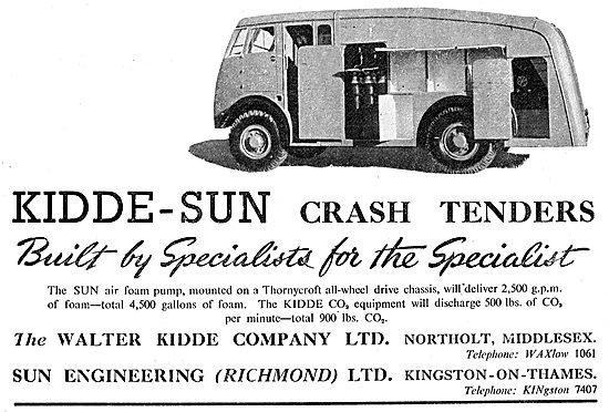 Kidde-Sun Airfield Crash Tenders