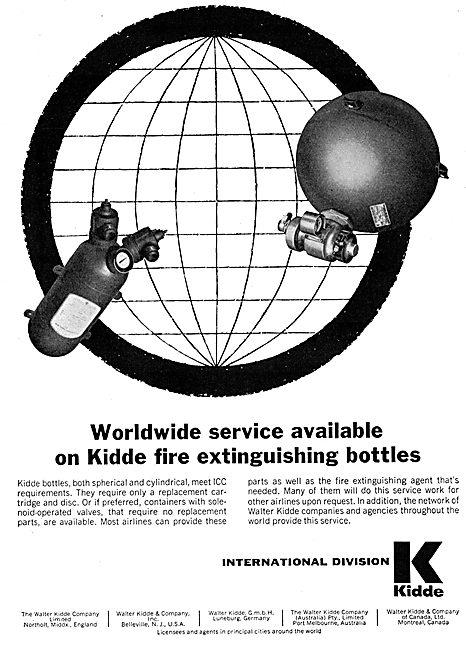 Kidde International Fire Extinguishant Bottles
