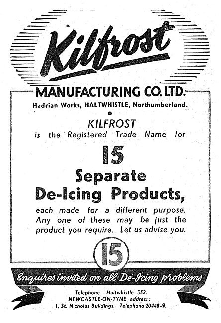 Kilfrost - De-Icing Products