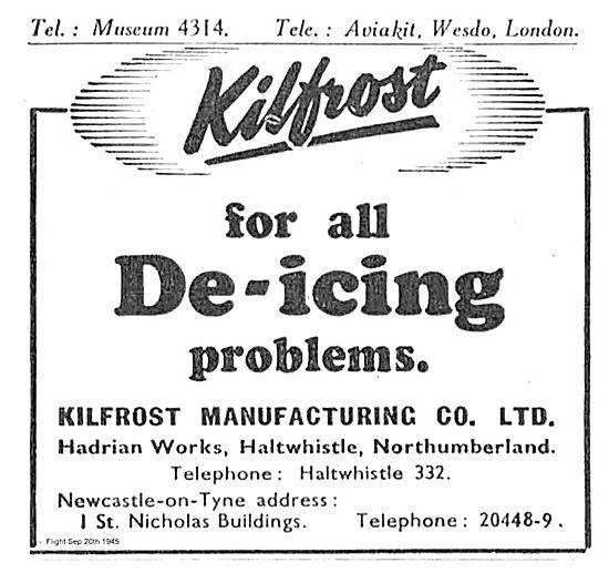 Kilfrost Aircraft De-Icing Solutions