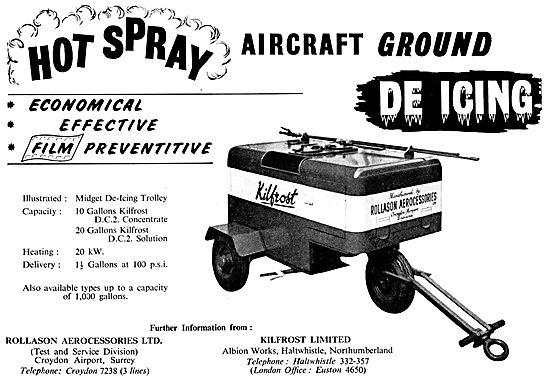 Kilfrost - Ground De-Icing Equipment