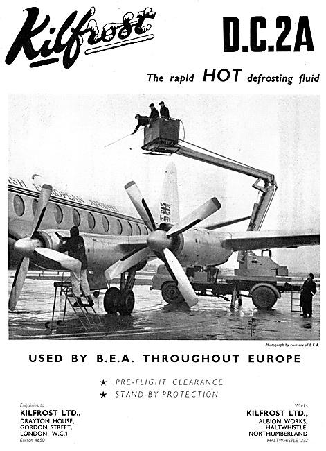 Kilfrost -Aircraft De-Icing & Defrosting Fluids
